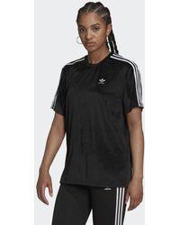 adidas Adicolor Classics Corded Velours Loose T-shirt - Zwart