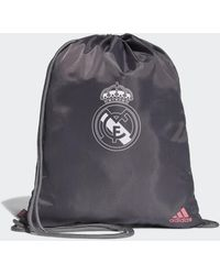 adidas Real Madrid Gym Tas - Grijs
