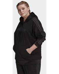 adidas Hoodie (grote Maat) - Zwart