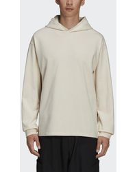 adidas Y-3 Ch3 Raw Terry Graphic Floral Hoodie - Naturel