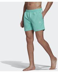 adidas Colorblock 3-stripes Korte Zwemshort - Groen