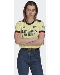 adidas Arsenal 21/22 Uitshirt - Geel