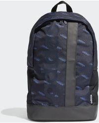 adidas Zaino Linear Logo - Blu