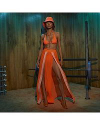 adidas Swim Cover-up Skirt - Orange