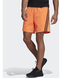 adidas Short Sportswear Woven 3-Stripes - Arancione