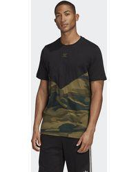 adidas Camiseta Camouflage Block - Negro