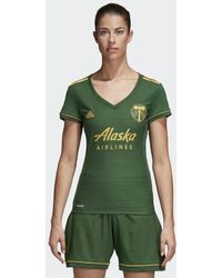 adidas - Portland Timbers Home Jersey - Lyst