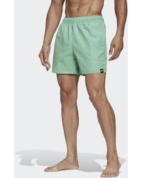 adidas Check Clx Zwemshort - Groen