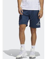 adidas - Short Big Logo - Lyst