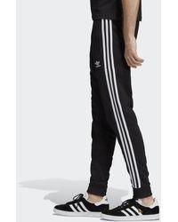 adidas 3-Streifen Hose - Schwarz