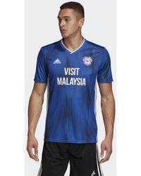 adidas Maglia Home Cardiff City FC - Blu