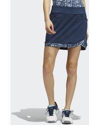 adidas Ultimate365 Printed Primegreen Skirt - Blue