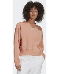 adidas Adicolor Essentials Fleece Sweatshirt - Roze