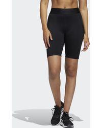 adidas Techfit Period-proof Biker Short Tights - Black