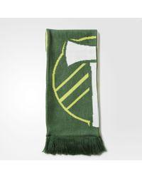 adidas Portland Timbers Jacquard Scarf - Green