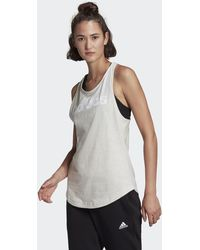 adidas - Loungewear Essentials Loose Logo Tank Top - Lyst