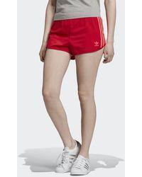 adidas Originals Synthetic Farm Floralita Shorts in Pink Lyst