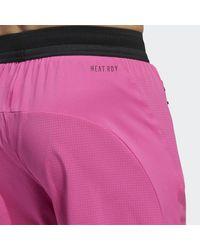 adidas Heat.rdy Warrior Geweven Short - Roze