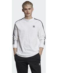 adidas 3-stripes T-shirt - Wit