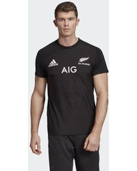 adidas - T-shirt All Blacks Domicile Performance - Lyst