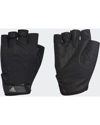 adidas Versatile Climalite Handschuhe - Schwarz