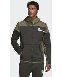 adidas Z.n.e. Aeroready Sweatshirt Met Rits - Groen