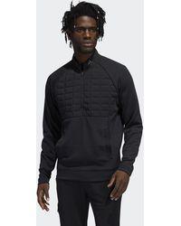 adidas Quarter-zip Pullover - Black