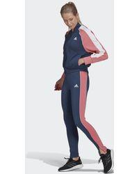 adidas Bomberjack En Legging Trainingspak - Blauw