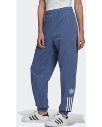 adidas Adicolor 3d Trefoil Trainingsbroek - Blauw