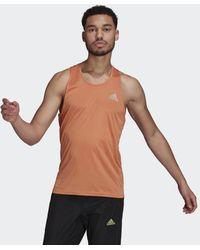 adidas Camiseta de tirantes Own the Run - Naranja