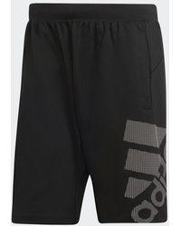 adidas 4krft Sport Graphic Badge Of Sport Short - Zwart