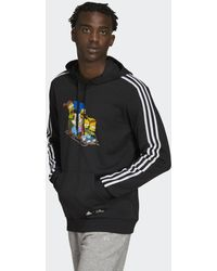 adidas X The Simpsons Family Graphic Hoodie - Schwarz