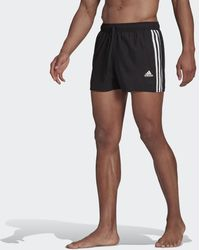 adidas Classic 3-stripes Zwemshort - Zwart