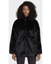 adidas - Fur Jacket - Lyst