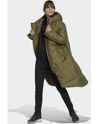 adidas Big Baffle Down Coat - Green