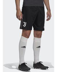 adidas Pantalón corto entrenamiento Juventus Tiro - Negro