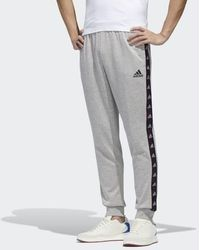 adidas Essentials Tape Pants - Gray