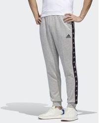 adidas Essentials Tape Pants - Gray