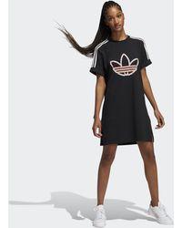 adidas Love Unites Tee Dress - Black