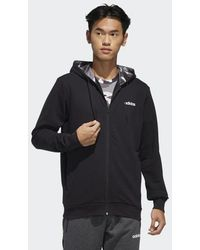 adidas Fast And Confident Aop Hooded Track Jacket - Black
