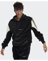 adidas Sprt Velours Hoodie - Zwart