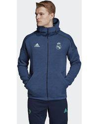 adidas Real Madrid Z.n.e. Hoodie - Blauw