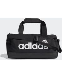 adidas Essentials Logo Duffeltas Extra Small - Zwart