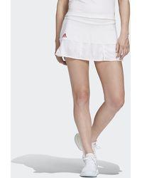adidas Tennis Match Skirt Engineered - White