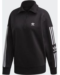adidas - Half-zip Sweatshirt - Lyst