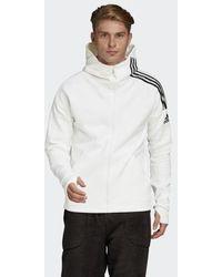 adidas Z.N.E. 3-Streifen Hoodie - Weiß