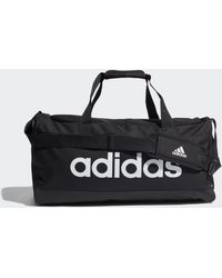 adidas Essentials Logo Duffel Bag Medium - Black