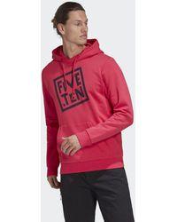 adidas Five Ten Gfx Hoodie - Roze