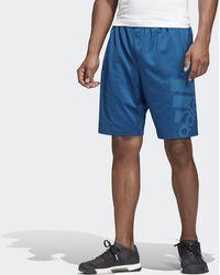 adidas Pantalón corto 4KRFT Sport Graphic Badge of Sport - Azul