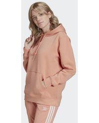 adidas Sudadera con capucha Adicolor Essentials Fleece - Rosa